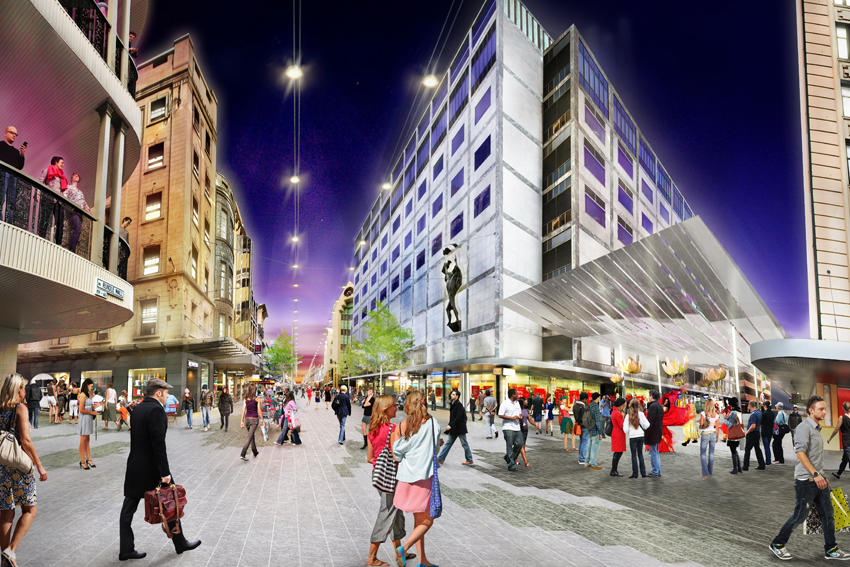 Gawler Place Rundle Mall Redevelopment