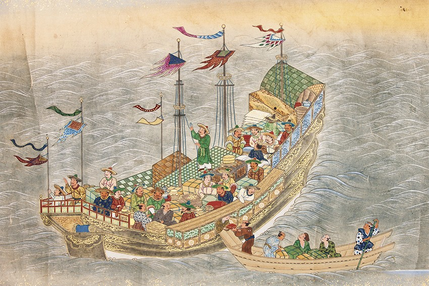 Treasure Ships: Lust conquers all