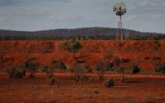 Outback scene, Dean Lewis/AAP
