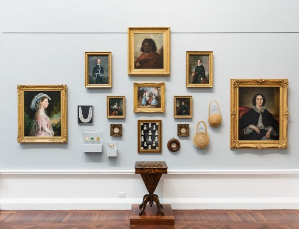 Installation view: Elder Wing of Australian Art, Art Gallery of South Australia, Adelaide (Photo: Saul Steed)