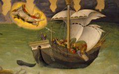 Saint Nicholas saves a ship, c. 1425 (Photo: Wikimedia)