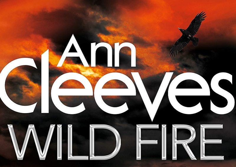 Cover detail from Anne Cleeves' 'Wild Fire'