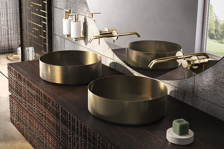 Gessi's Pure Steel, Pure Style