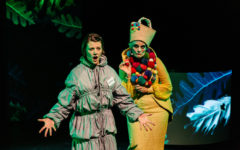 Elizabeth Hays and Christine Johnson in Baba Yaga (Photo: Sia Duff)