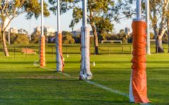 AFL goalposts (Photo: Shutterstock)