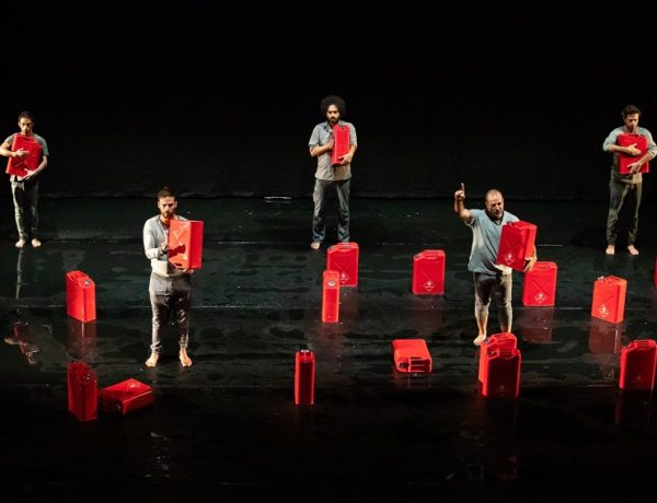 Cast of Manus (Photo: James Elsby)