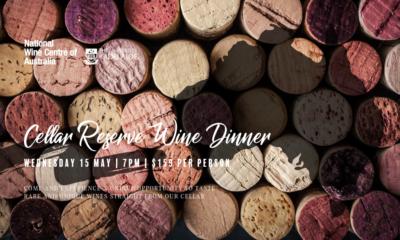 Cellar Reserve Wine Dinner