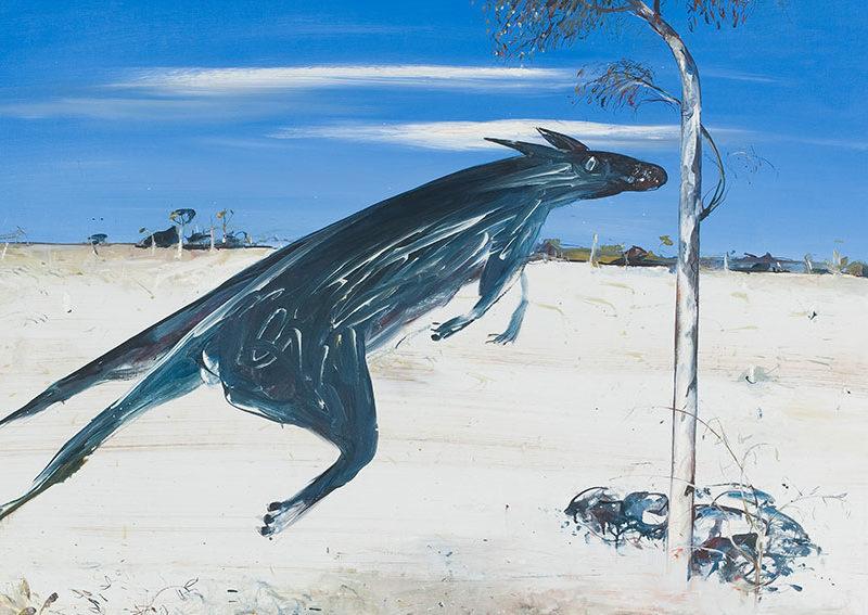 Reflected Kangaroo, Arthur Boyd