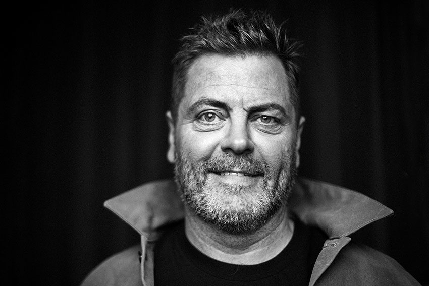 Nick Offerman on why decency trumps masculinity