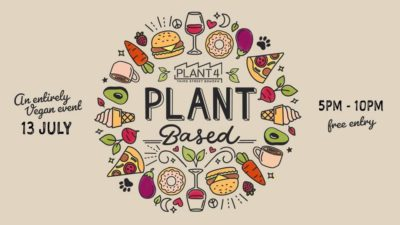 'Plant Based at Plant 4- Twilight event'