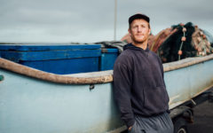A fisherman at Port Wakefield (Photo: Fairfish)