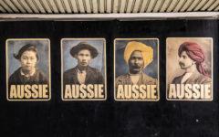 Peter Drew's Aussie series in Sydney (Photo: Peter Drew)