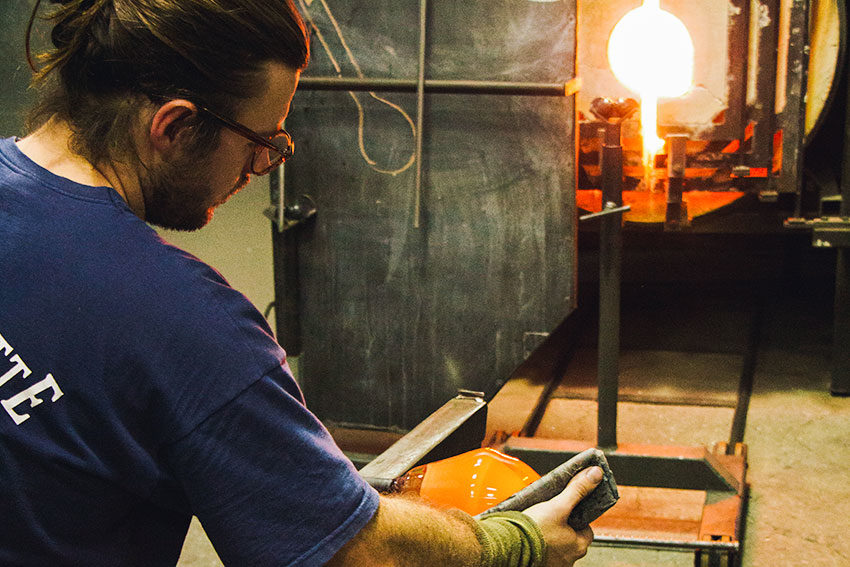 Drew Spangenberg and the art of glass