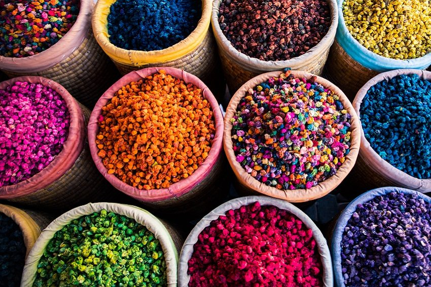 Spices sold in the souks of Marrakech (Photo: Shutterstock)