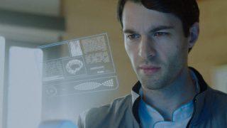 Alex surveys a patient's electronic health chart