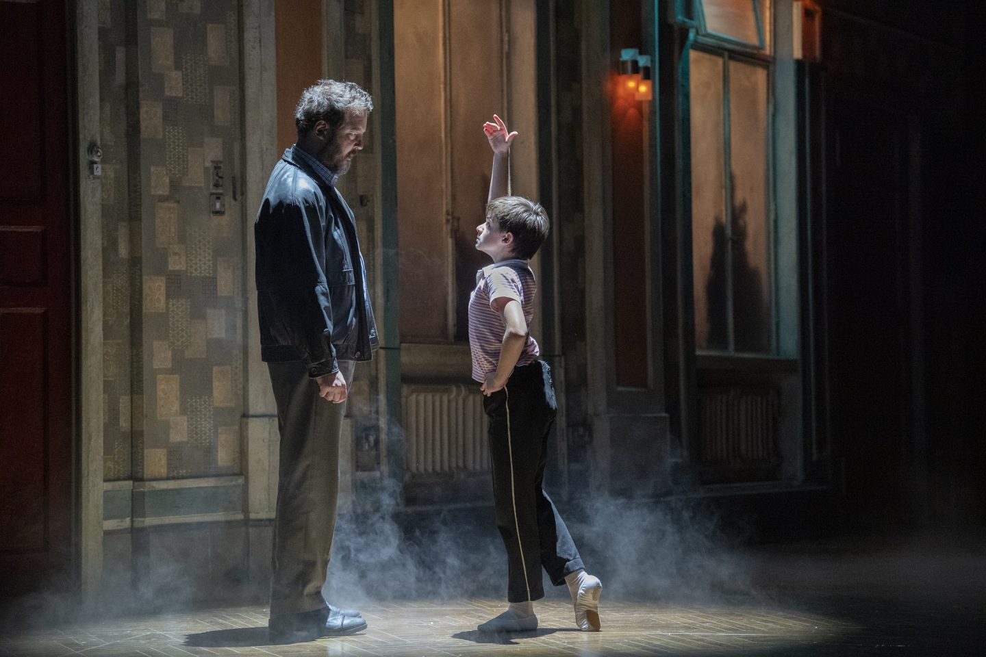 Justin Smith and Wade Neilsen in Billy Elliot The Musical