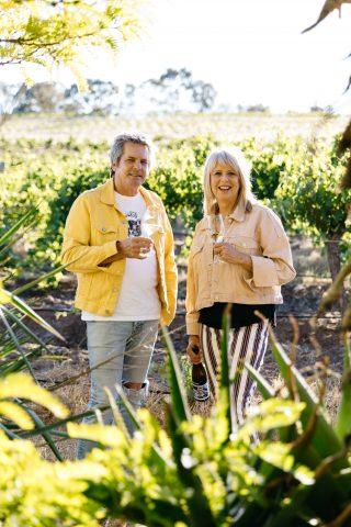 Richard Woods and Rasa Fabian of Shut the Gate Wines